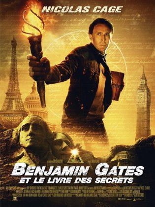 Affiche Poster Benjamin Gates Livre secret book National Treasure Disney
