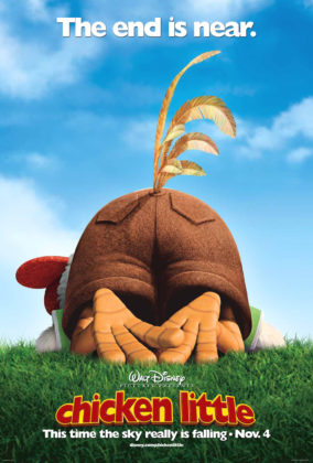 Affiche Chicken little Disney Poster