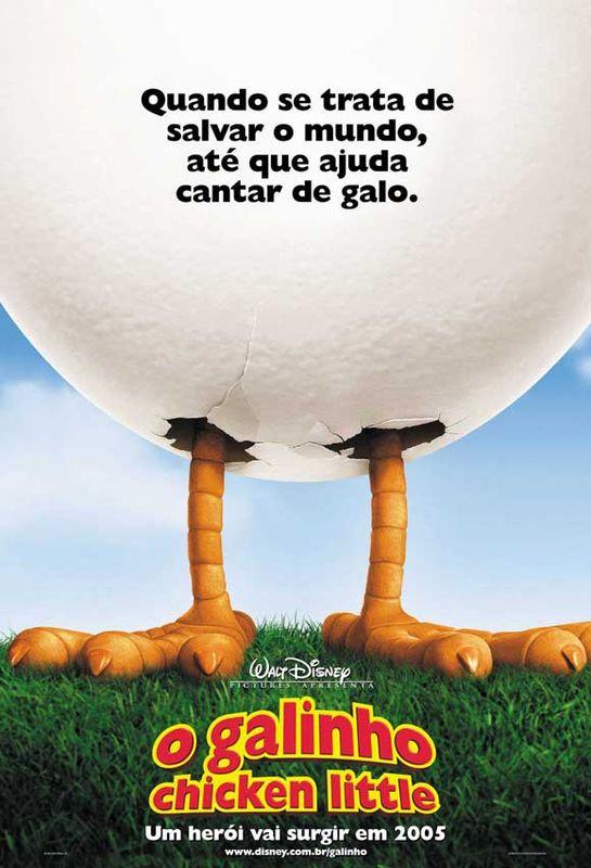 Affiche Chicken little Disney Poster