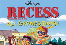 affiche cour recre petits contre attaquent poster recess all growed down disney television animation
