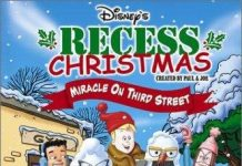 affiche cour recre vacances noel poster recess christmas miracle third street walt disney television animation