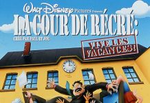 affiche cour recre vive vacances poster recess school out walt disney television animation