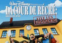 affiche cour recre vive vacances poster recess school out walt disney television animation