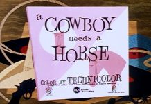 Disney animation affiche-cowboy-sans-cheval