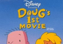 affiche doug film poster doug first movie walt disney television animation