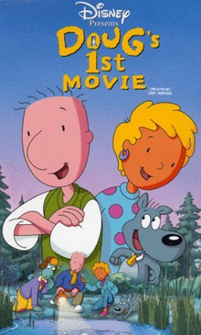 affiche doug film poster doug first movie walt disney television animation