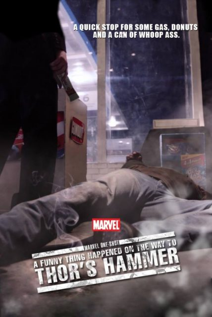 affiche poster drole histoire marteau thor   Funny Thing Happened Thor disney marvel