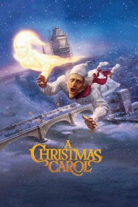 Affiche Poster drôle noel scrooge christmas carol disney