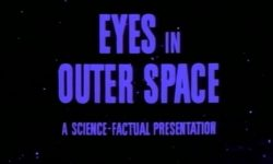 affiche poster eyes outer space disney