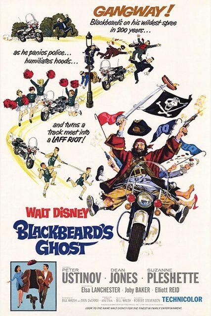Affiche Poster fantôme barbe noire ghost blackbeard disney