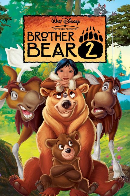 Affiche Poster frere ours brother bear disney disneytoon