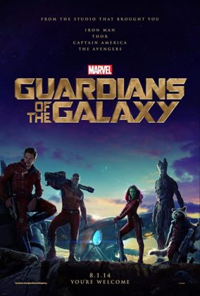 Affiche Poster Gardiens Galaxie guardians Disney Marvel