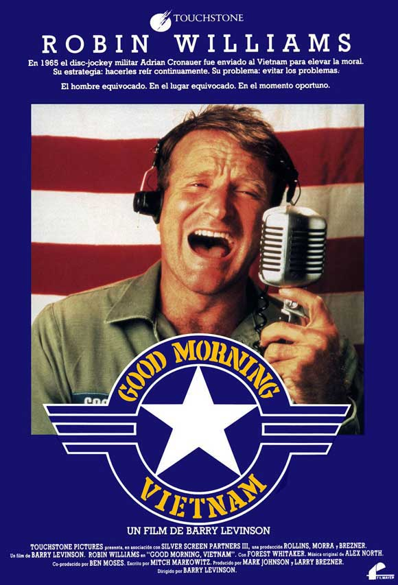 Disney touchstone pictures affiche good morning vietnam