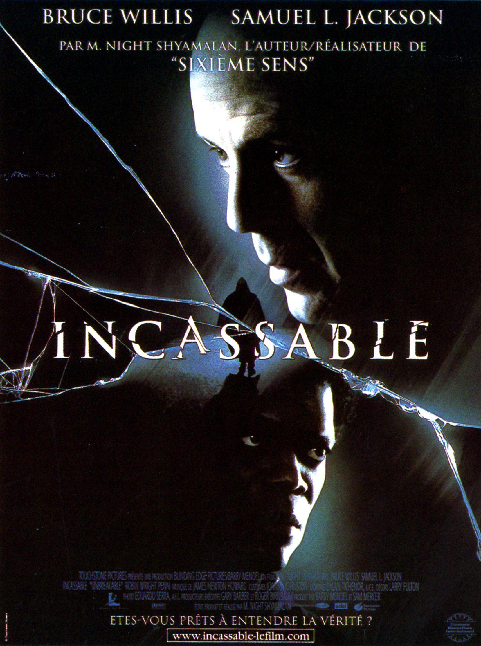 Affiche Poster Incassable Unbreakable Disney Touchstone pictures