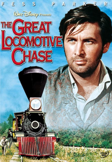 Affiche Poster infernale poursuite great locomotive chase disney