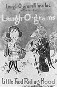 Disney Laugh-O-Gram Films affiche-little-red-riding-hood