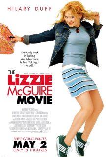 affiche poster lizzie mcguire film movie disney