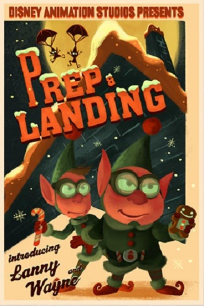 affiche poster lutin élite mission noel prep landing disney