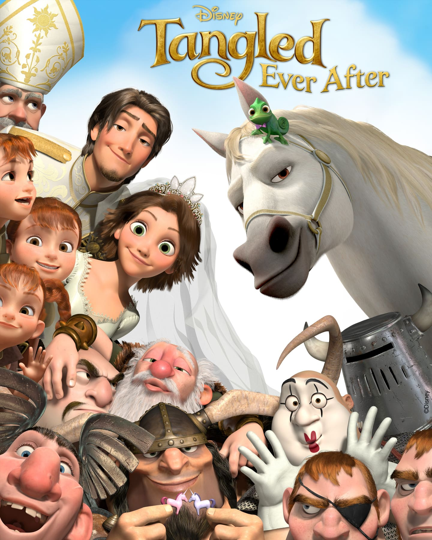 affiche poster mariage raiponce tangled ever after disney