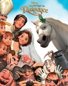 Disney affiche-mariage-raiponce