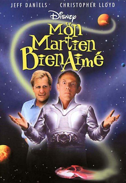 Affiche Poster martien bien aimé favorite martian disney