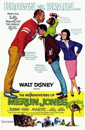Affiche Poster mésaventures misadventures merlin jones disney