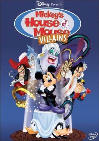 affiche mickey club mechants disney television animation mickey house villains