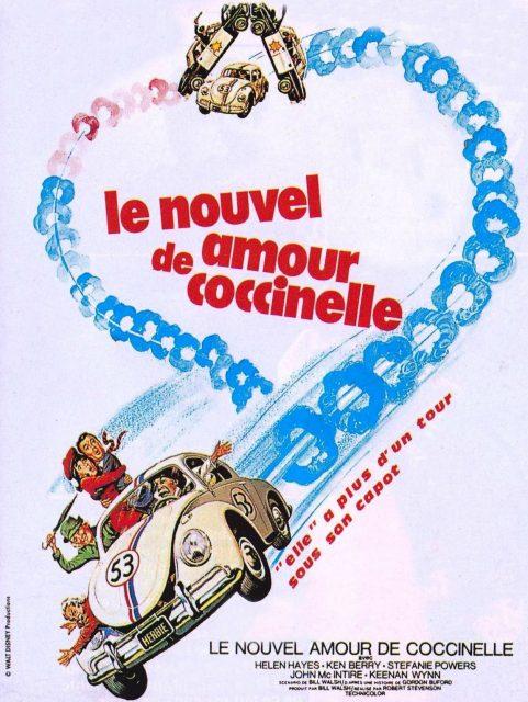 Affiche Poster nouvel amour coccinelle Herbie Rides Again disney