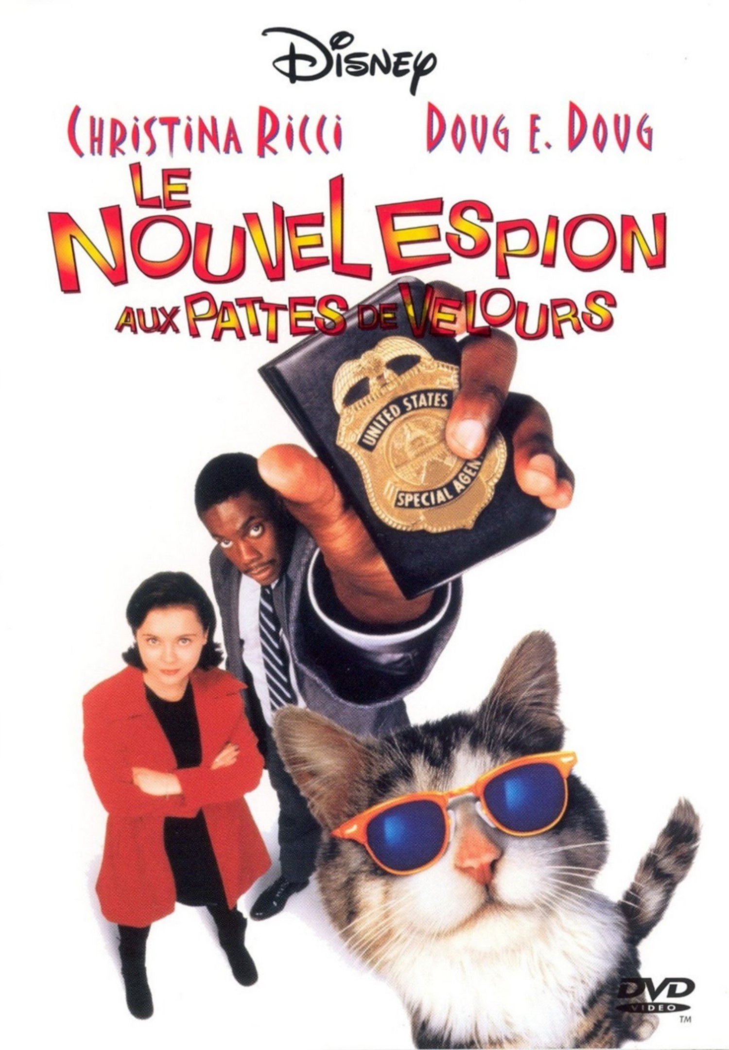 Affiche Poster nouvel espion pattes velours That Darn Cat disney