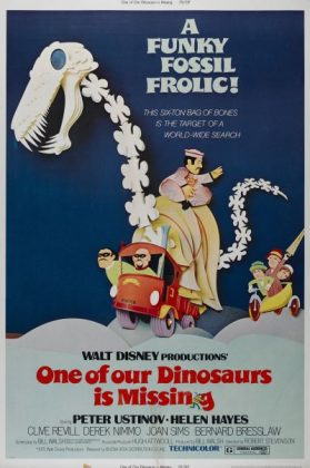 Affiche Poster objectif lotus dinosaur missing disney
