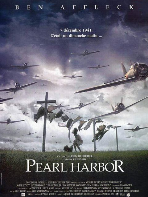 Affiche Poster Pearl Harbor Disney Touchstone Pictures