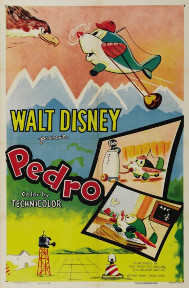 affiche poster pedro disney