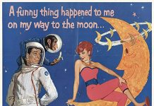 Affiche Poster pilote lune moon disney