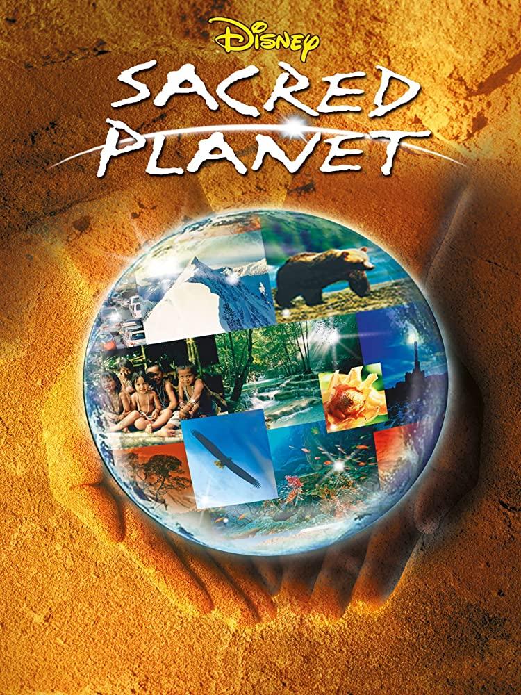 affiche poster planete sacrée planet sacred disney