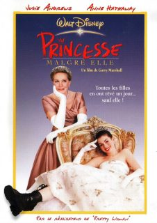Affiche poster princesse malgré elle princess diaries disney