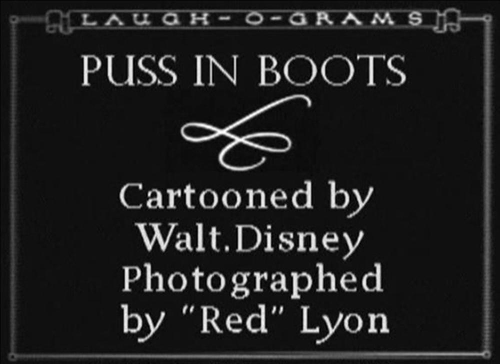 affiche poster puss boots disney