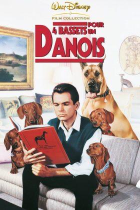 Affiche Poster quatre bassets danois Ugly Dashshund disney