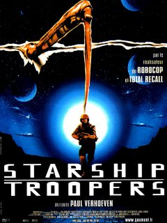 affiche poster starship troopers disney touchstone pictures