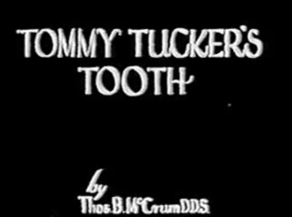 affiche poster tommy tucker tooth disney