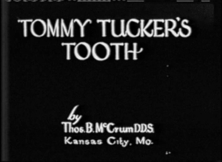 Disney Laugh-O-Gram Films affiche-tommy-tucker-tooth