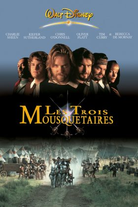 Affiche Poster trois mousquetaires Three Musketeers disney