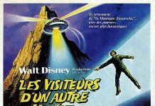 Affiche Poster visiteur autre monde return witch mountain