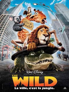 Affiche Poster wild disney