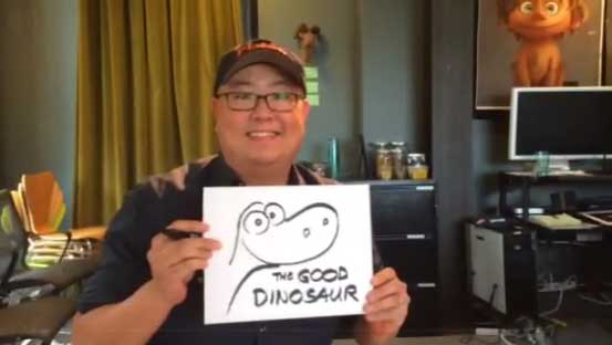 dinosaur Pixar Disney Peter Sohn Arlo