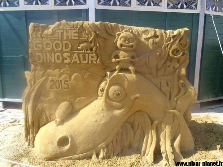 Pixar Disney disneyland paris magic sand