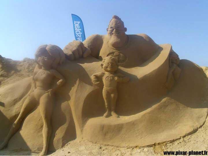 Pixar Disney disneyland paris magic sand