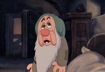 dormeur sleepy disney personnage character blanche-neige sept nains snow white seven dwarfs