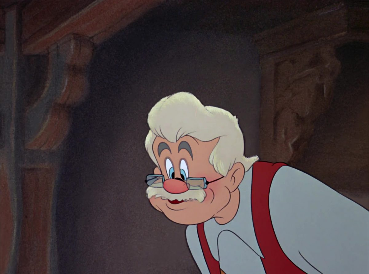 geppetto  disney personnage character pinocchio