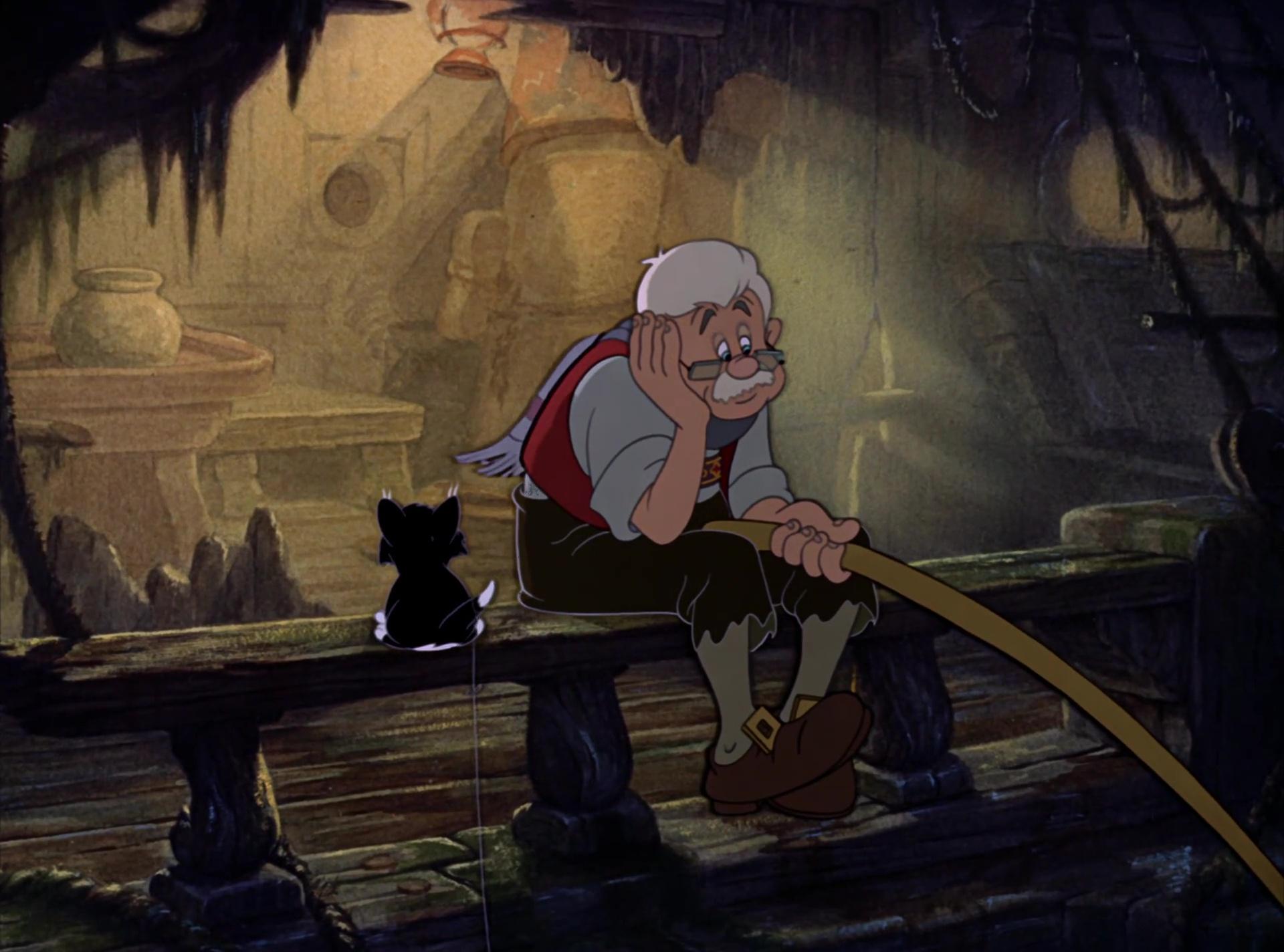 Geppetto personnage dans pinocchio disney planet - Baleine pinocchio ...