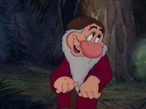 grincheux grumpy disney personnage character blanche-neige sept nains snow white seven dwarfs